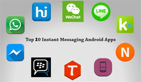 free mobile instant messenger 20 free best text messaging apps for android free