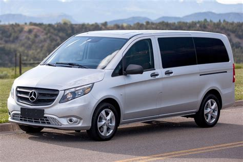 mercedes minivan 2016 mercedes metris minivan pricing for sale edmunds