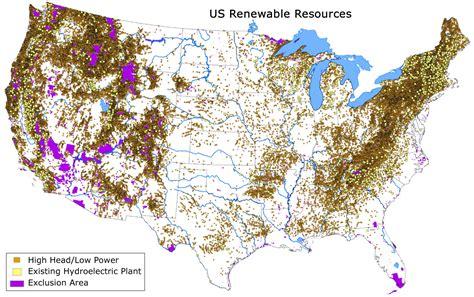 usa resource map usa map