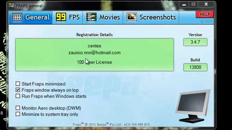 fraps full version how to get fraps full version for free 2014 hd youtube