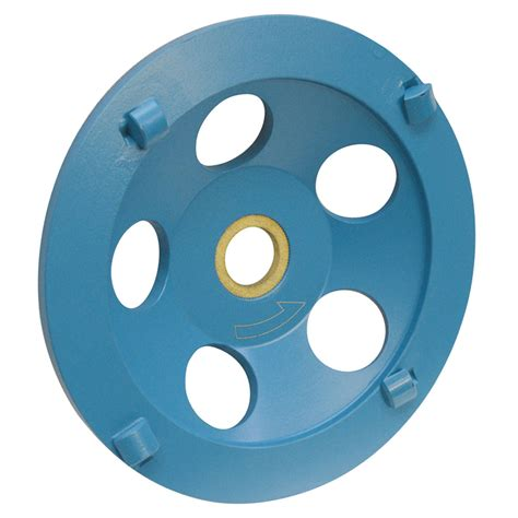 5'' Concrete PCD Cup Wheel 7/8''   5/8'' Arbor 4 Segments Epoxy, Coating Removal, Grinding