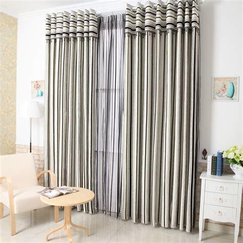 vorhang schwarz weiß gestreift kaufen gro 223 handel grau streifen vorh 228 nge aus china