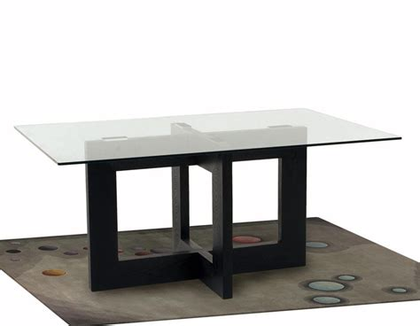 Rectangle Glass Dining Table 65 Inch Rectangle Glass Top Dining Table
