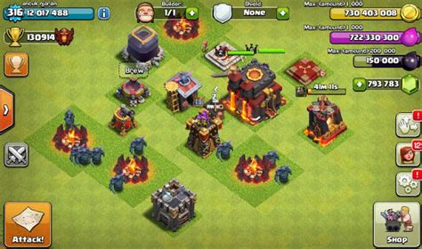 download game coc mod server indonesia update terbaru 2016 fhx clash of clans mod private server