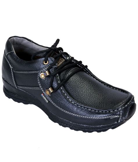 shoebook black formal shoes price in india buy shoebook