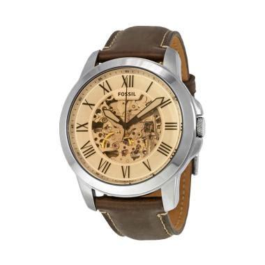 Jam Tangan Pria Fossil Me3111 Silver Skeleton jual fossil me3122 grant automatic skeleton jam tangan pria silver brown harga