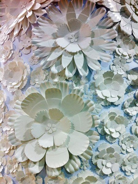 Flowers With Paper Plates - flowers made from paper plates projects