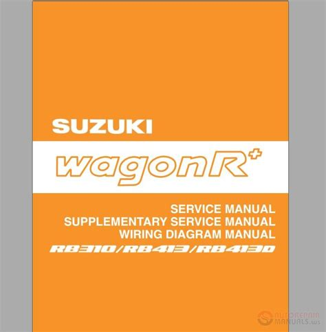 Suzuki Workshop Manual Pdf Suzuki Wagon R Shop Manual Auto Repair Manual Forum