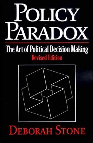 a problematic paradox books policy paradox the of political decision by