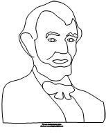 abraham lincoln coloring pages for kindergarten 17 best images about president s day on pinterest