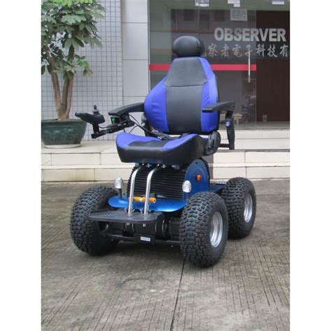 Stair Climbing Chair 4wd Electric Wheelchair Off Road Wheelchair Observer