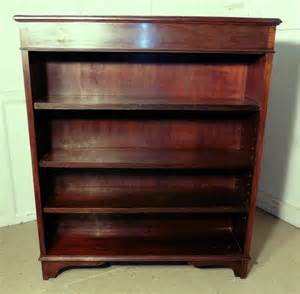 mahogany open bookcase antiques atlas