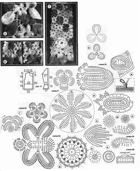 Kp Motif russian lace crochet motif patterns h 228 keln crochet