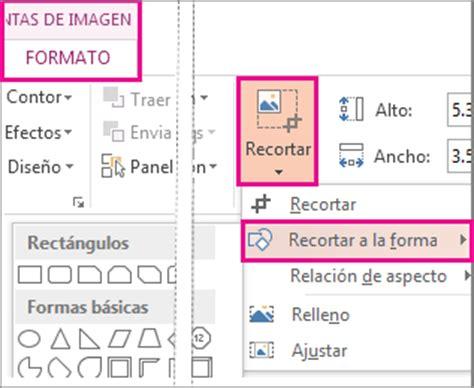 como hacer imagenes png en word recortar una imagen para que se adapte a una forma