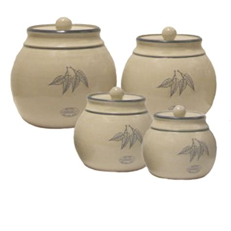 kitchen canister set pottery ceramic stoneware earth tones pottery kitchen canister sets 28 images pottery