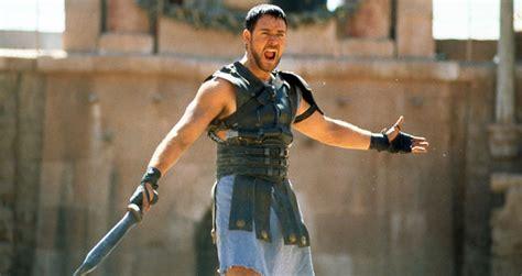 gladiator film script russell crowe in gladiator