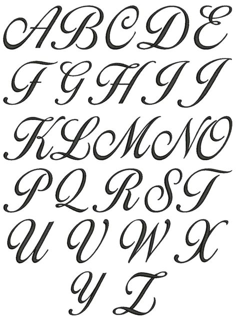 cursive letters tattoos 25 best ideas about fancy fonts alphabet on