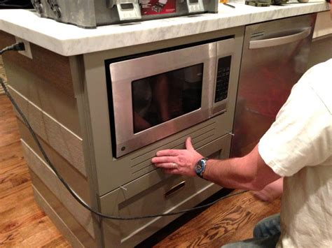 design dump how to fake a built in microwave design dump how to fake a built in microwave