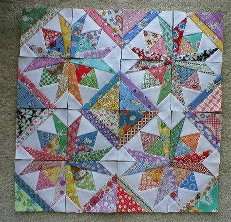 Miniature Quilt Blocks by Details About 16 Mini Quilt Blocks 3 1 2 Quot Ea Square