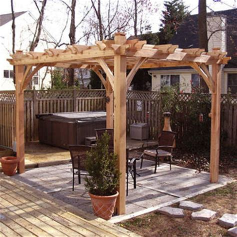 western red cedar pergola 8 x 10 sam s club