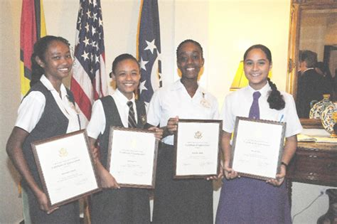 Martin Luther King Jr Essay Contest Winners by Pc Student Wins Martin Luther King Jr Essay Contest Stabroek News
