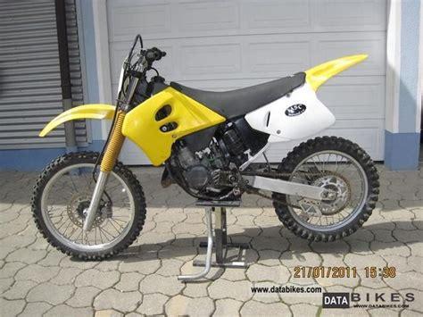 1993 Suzuki Rm250 1993 Suzuki Rm 125 Cc