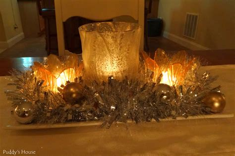 Christmas And New Year S Puddy S House New Year Centerpiece