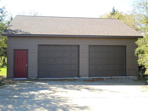 build a two car garage building a two car garage cost to build 24x24 garage