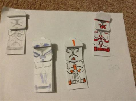 Advanced Origami Yoda - crease trooper origami yoda