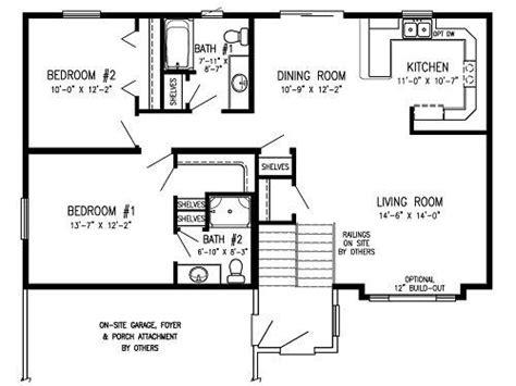 bi level house floor plans floor plans