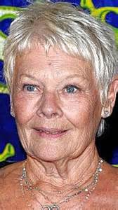 judi dench hairstyle front and back of judi dench hairstyle front and back head short short