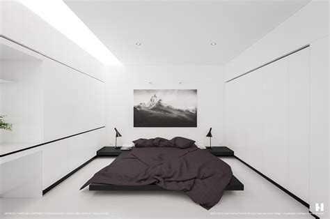 minimalism design 6 perfectly minimalistic black and white interiors