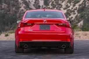 2016 lexus is sedan gets new engine lineup