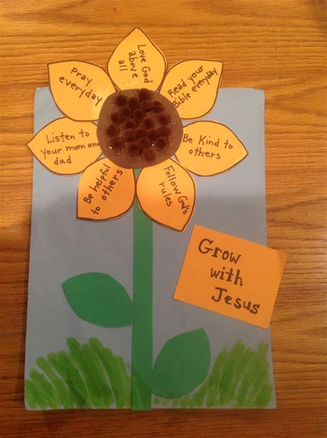 8 Floral And Lovely Projects by Grow With Jesus Bible Craft By Let Bible Crafts By Let