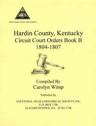 Kentucky Circuit Court Records Hardin Co Ky Circuit Court Order Book B Ancestral Trails Historical Society