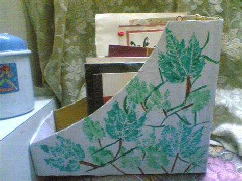 Handmade Magazine Holder - handmade magazine holder 183 a box 183 decorating and