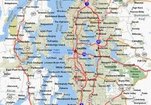 Seattle Metro Map by Seattle Metro Area Flickr Photo Sharing