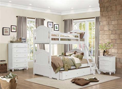homelegance clementine bunk bedroom set b1799 bunk bedroom