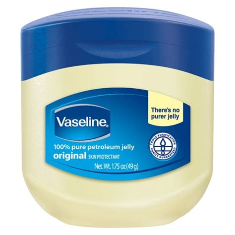 Berkualitas 49 Gram Vaseline Petroleum Jelly Original vaseline original petroleum jelly 1 75 oz target