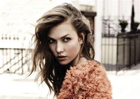 carly victorias secret closs model secret 2014 karlie kloss dyes her hair