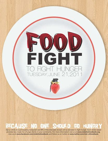 Mid Ohio Food Pantry by Food Fight Poster Design On Behance