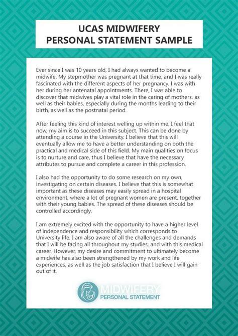 http www midwiferypersonalstatement best midwifery