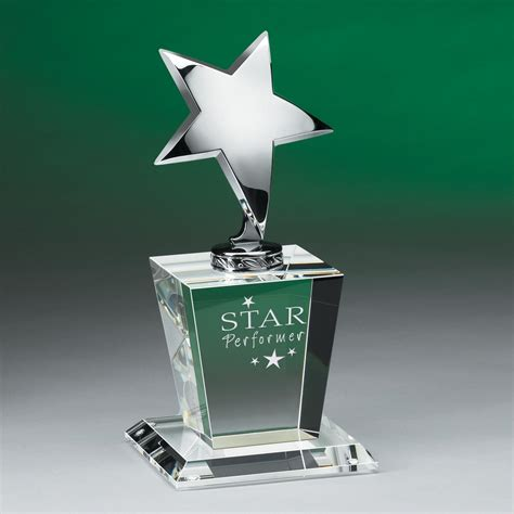 Star Performer Crystal Award   Awards & Recognition by