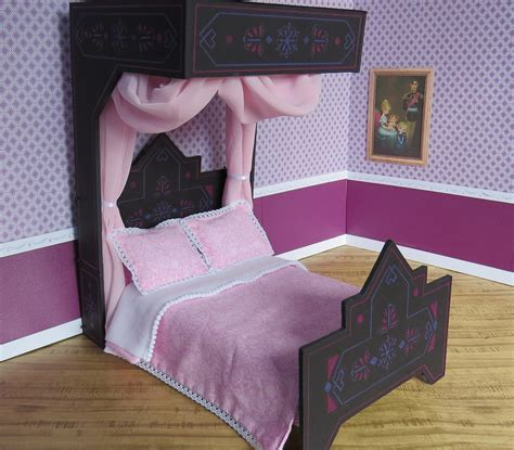 elsa bed 14 princess elsa s black bed before the monday craziness flickr