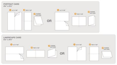 A2 Folded Card Indesign Template by 37 Best Scrappy