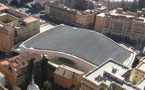 sala nervi ingresso il fotovoltaico installato a citt 224 vaticano