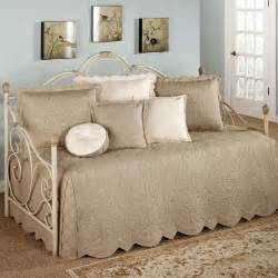 Daybed Comforter Sets Evermore Almond Daybed Bedding Set