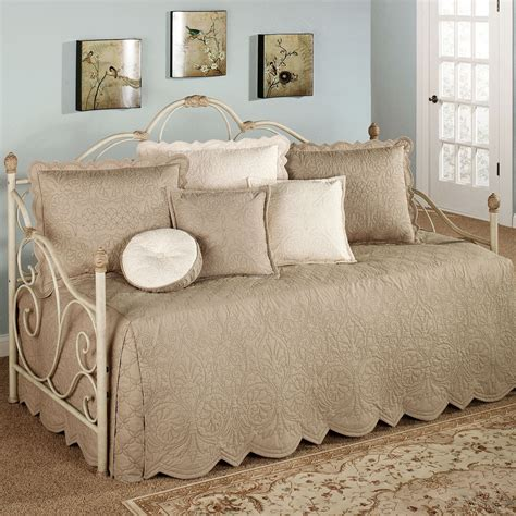 daybed coverlet evermore almond daybed bedding set