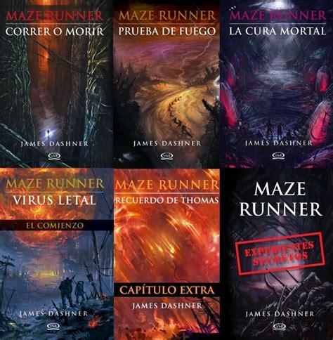 correr o morir leer libro completo saga maze runner trilog 237 a 3extras james dashner 6 libros pdf bs 500 00 en mercado libre