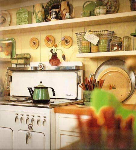rustic kitchen love the blue retro appliances with the 70 best vintage stoves images on pinterest vintage